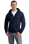 Hanes; Comfortblend; EcoSmart; Full Zip Hooded Sweatshirt. P180