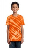 Port & Company; Youth Essential Tiger Stripe Tie Dye Tee. PC148Y