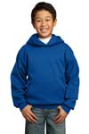 Port & Company; Youth Pullover Hooded Sweatshirt. PC90YH