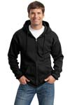 Port & Company; Ultimate Full Zip Hooded Sweatshirt. PC90ZH