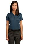 Red House; Ladies Contrast Stitch Performance Pique Polo. RH50