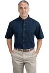 ; Port & Company; Short Sleeve Value Denim Shirt. SP11