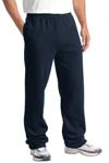 Sport Tek; Open Bottom Sweatpant. ST257