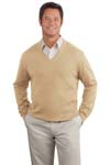 Port Authority; Fine Gauge V Neck Sweater. SW275