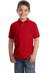 Port Authority; Youth Silk Touch Polo. Y500