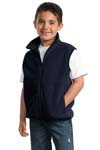 ; Port Authority; Youth R Tek Fleece Vest. YJP79
